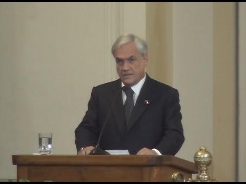 Discurso completo de Sebastián Piñera en homenaje a ex Presidente Patricio Aylwin