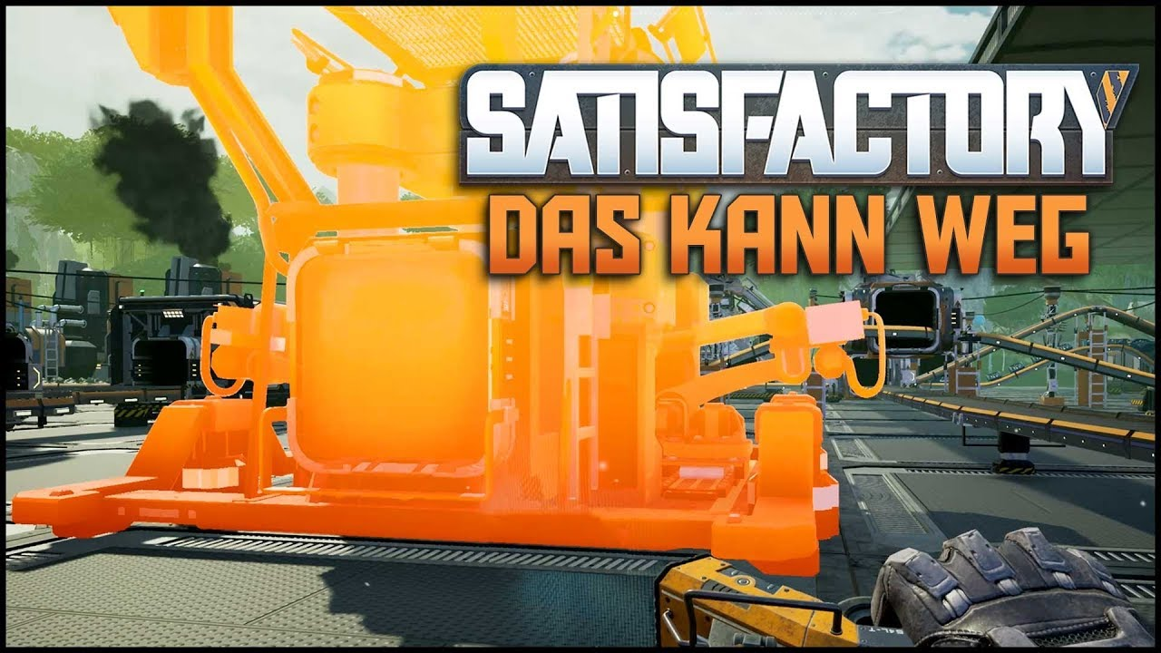 Satisfactory #19 [Let's Play Deutsch German