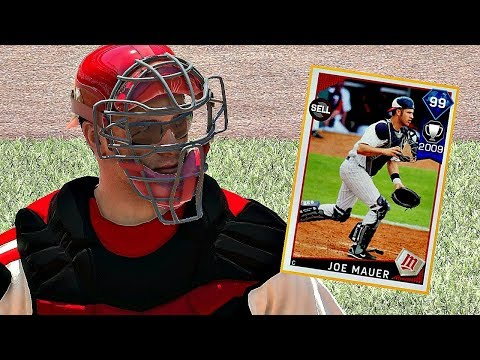 99 JOE MAUER DEBUT!! MLB The Show 17 Diamond Dynasty