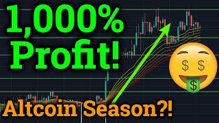 1,000% Profit Trading! Altcoin Season Is Here? (Cryptocurrency News + Bitcoin Price Analysis)