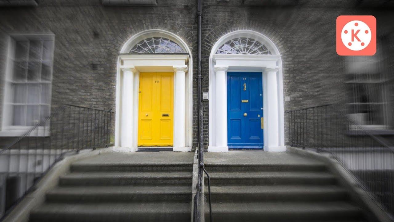 Door Closing Transition in Kinemaster   Kinemaster Editing