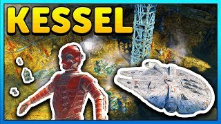 KESSEL Secrets EXPLORED - Star Wars Battlefront 2 Out of Map