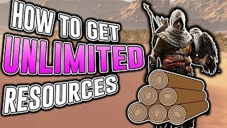 *UNLIMITED RESOURCES AND DRAMCHA * FARMING (Low Mid High lvl) | Assassins Creed Origins #roadto2k