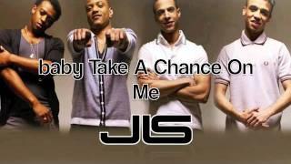 JLS -Take A Chance On Me karaoke.