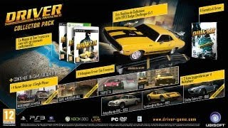 Unboxing Driver San Francisco - Collector's Edition (PC)