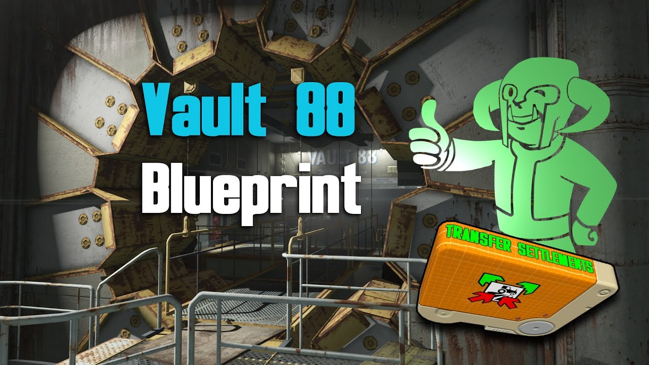 Fallout 4 using gophers vault 88 blueprint youtube fallout 4 using gophers vault 88 blueprint malvernweather Images