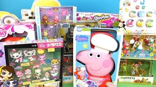 A LOT OF TOYS - Peppa Pig, Shopkins, Minions and other