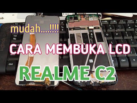 Cara Membongkar Lcd Realme C2
