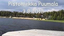Pistohiekka Puumala vanha leirintäalue 3.8.2018