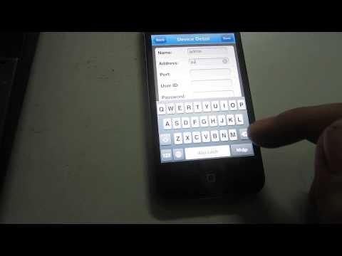 Cài đặt xem Camera trên điện thoại di động Iphone bằng phần mềm Meye