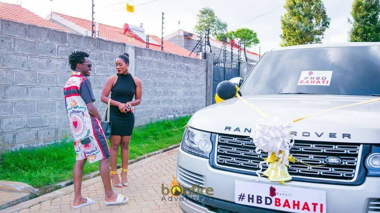 Birthday Gift: Bahati (Kenya) apewa zawadi ya Range Rover na mkewe