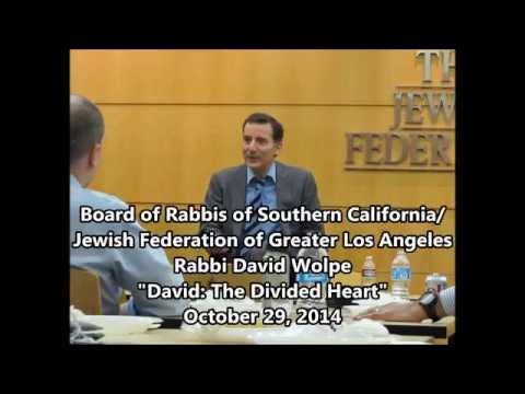 """David Wolpe, """"David: The Divided Heart"""""""