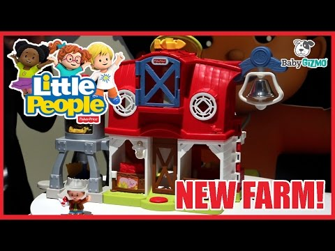 NEW Fisher Price Little People Caring For Animals Farm Toy Preview Playtime