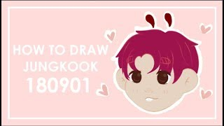 How To Draw Jungkook by Tokkiekook