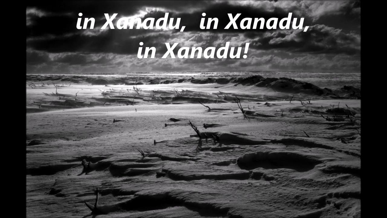 Xanadu lyrics