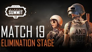 FACEIT Global Summit - Day 4 - Elimination Stage - Match 19 (PUBG Classic)