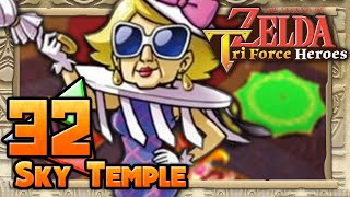The Legend of Zelda: Tri Force Heroes - Part 32 - Sky Temple(Welcome to The Legend of Zelda: Tri Force Heroes! This will be a 3-Player Let's Play! Join me as I tackle every stage in the land of Hytopia with ..., 2015-11-25T00:04:48.000Z)
