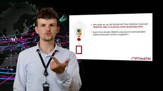 OptiMobile: Sicherheit Ihrer Daten