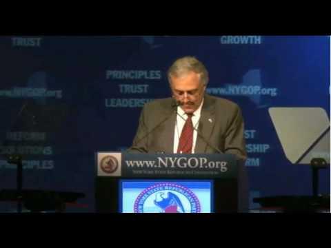 Carl Paladino's GOP Speech - Carl to Albany: Batter Up