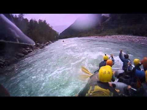 Rafting.hu  Rafting Isel, Austria Tirol.wmv