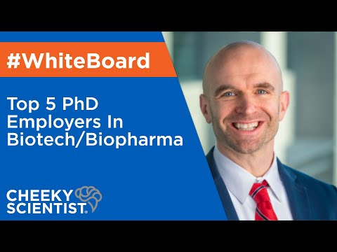 Top 5 PhD Employers In Biotech/Biopharma - YouTube