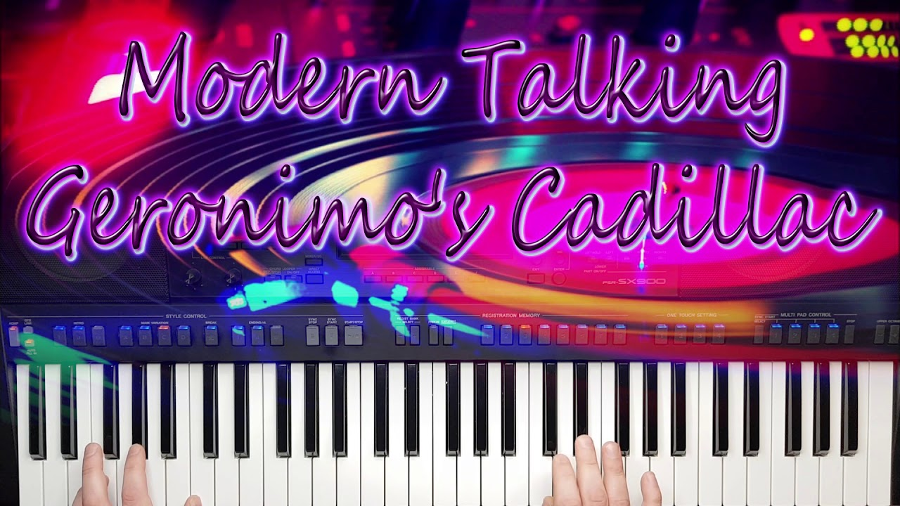 Modern Talking Geronimo's Cadillac Yamaha Psr sx900 Remix 2020