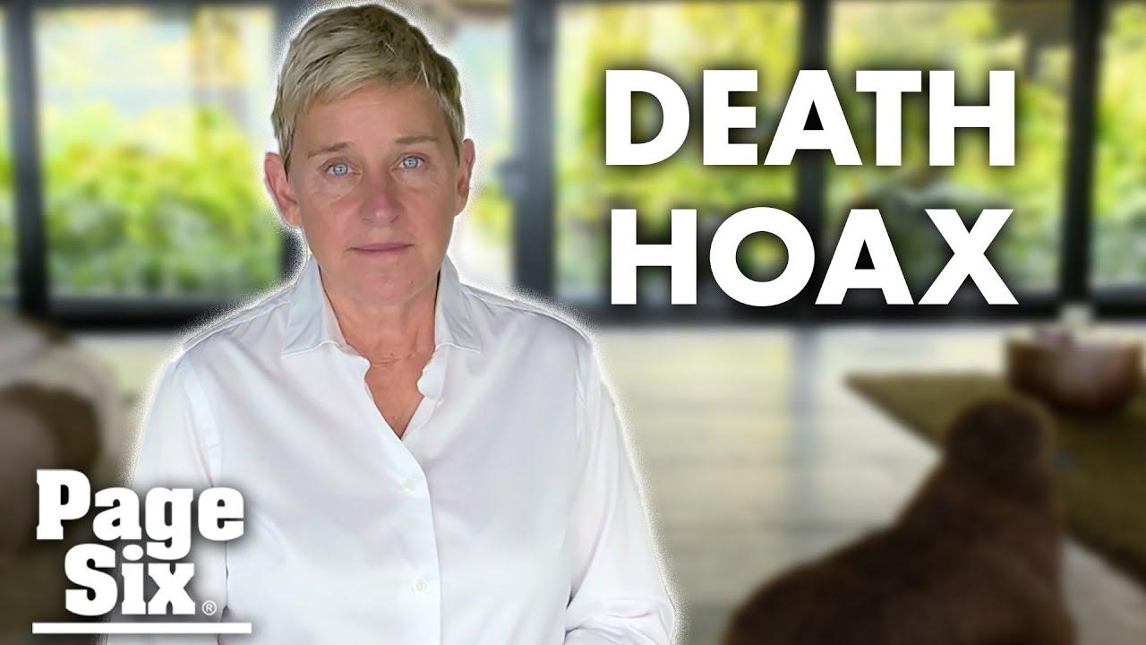 Why #RIPEllen is trending on Twitter: Ellen DeGeneres death hoax goes viral | Page Six News
