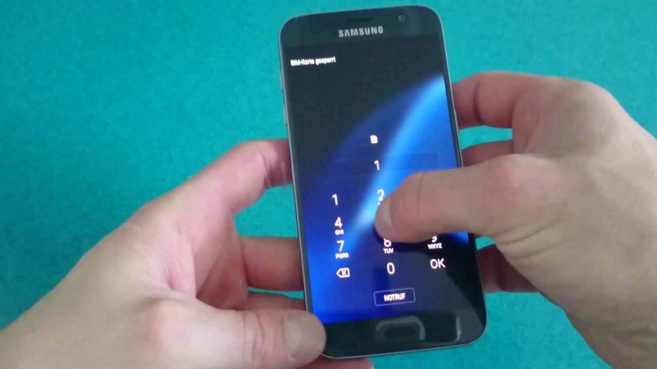 Samsung Galaxy S9 einrichten