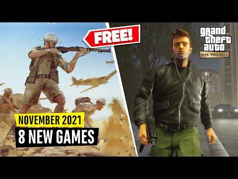 8 New Games November (2 FREE GAMES) thumbnail