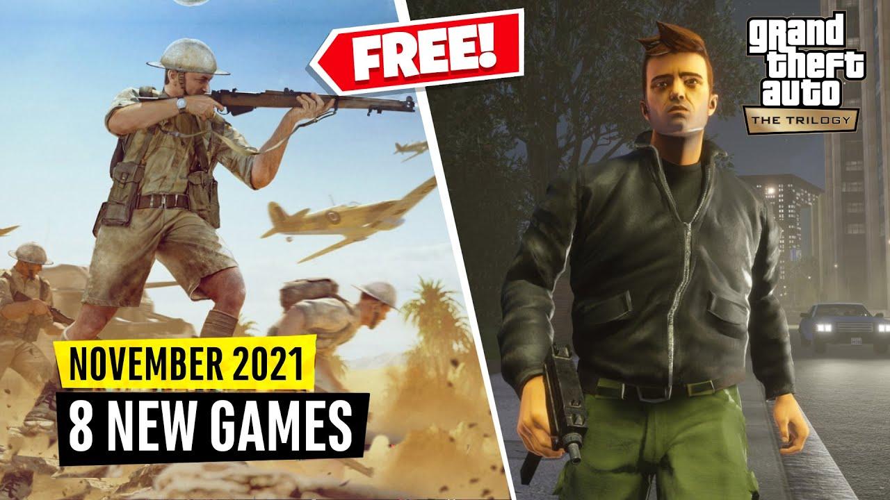 Download 8 New Games November (2 FREE GAMES)