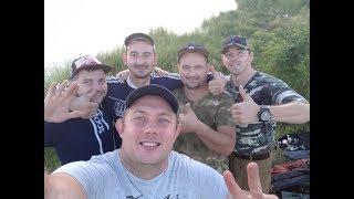 Рыбалка в Рогожкино.Совместная рыбалка с друзьями Donbass Fishing