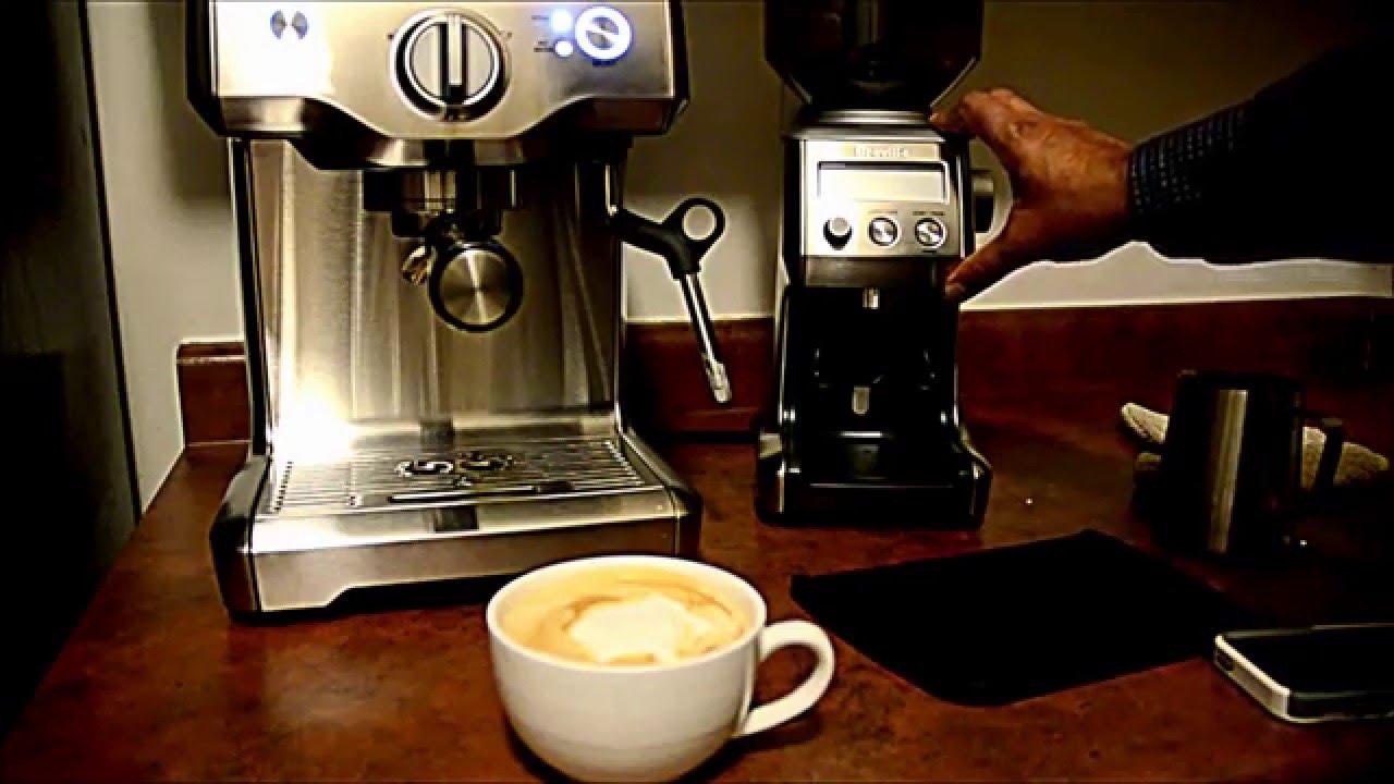 Breville Duo Temp Pump Espresso Machine - YouTube