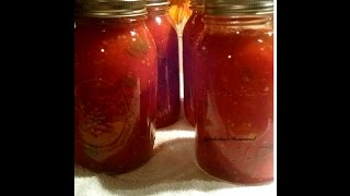 Canning Organic Tomato Sauce With Your Crock Pot