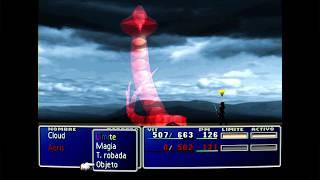 [Final Fantasy VII] Derrota a Midgardsormr la primera vez que lo enfrentas