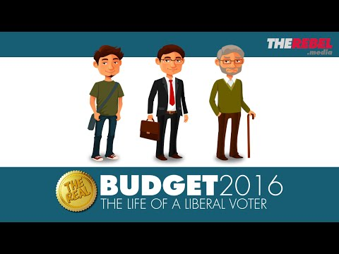 The REAL 2016 Budget: Explained to an 18-year-old Justin Trudeau voter