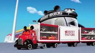 ディズニーモータース(トミカ)を8台運べる大型トラックが登場! http...