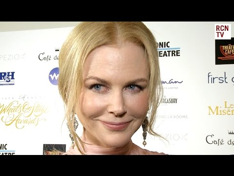 Nicole Kidman Interview - What's On Stage Awards 2016