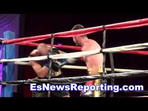 boxing star chris van Heerden Fight Highlights Looks Great - EsNews boxing