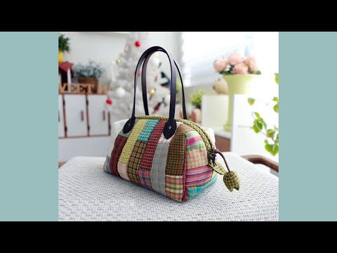 Shine Sewing Tutorial Boston Bag Patchwork