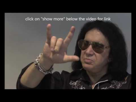 "67 yr/old Gene Simmons of KISS chats w/ Glasgow Live ""Well do it for a few more years"""
