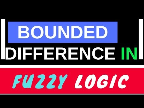 Bounded Difference In Fuzzy Logic    [Part-5]