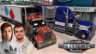 Zwiedzamy OREGON #1 American Truck Simulator z Tanasem! :D