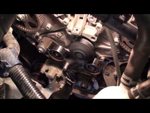 Honda Odyssey serpentine belt tensioner replacement | Doovi