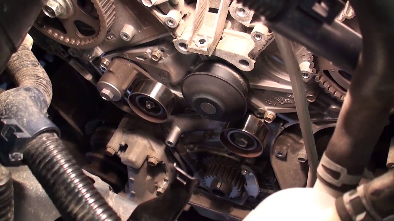 hight resolution of diy honda 3rd generation honda odyssey timing belt replacement youtube 2006 honda odyssey 3 5 timing belt diagram
