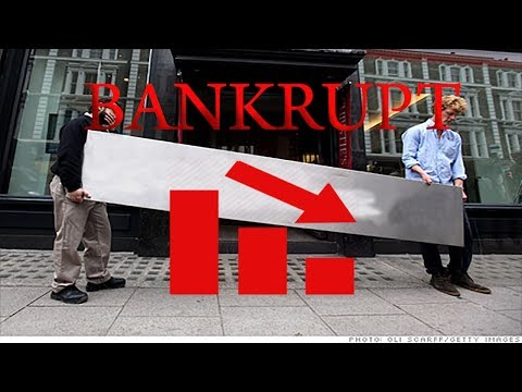 5 Biggest Companies That Went Bankrupt