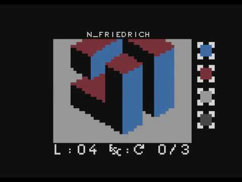 dye - puzzle game for Atari computers