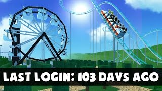 I HAVEN'T LOGGED ON IN 103 DAYS.. | Roblox Theme Park Tycoon #9
