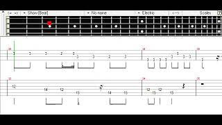 clock lock works - HACHI ft. Hatsune Miku Bass TAB thumbnail