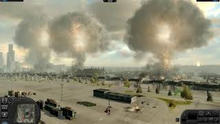 World In Conflict [mode. no hope]  nuclear attack