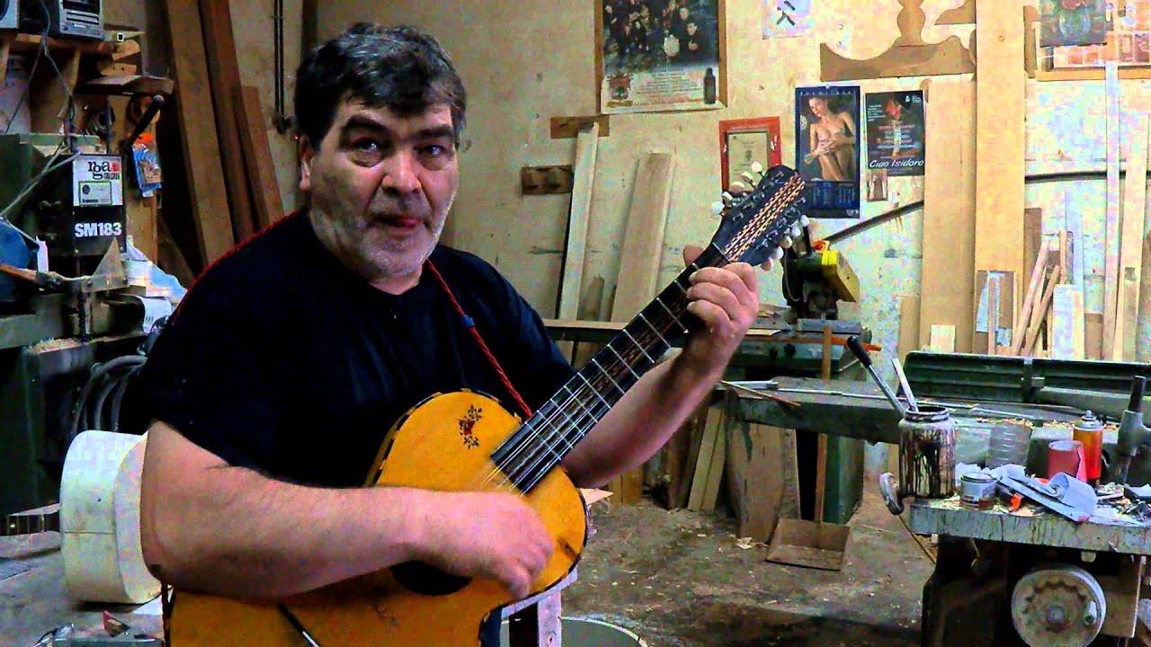 Antonio Rignanese - Liutaio di Vico del Gargano (FG), by Ethos del Gargano  - YouTube